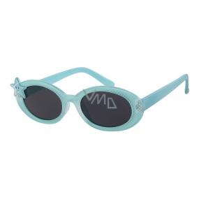 Dudes & Dudettes Sluneční brýle pro děti tyrkysové DD16005