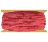 Provázek papírový červený 30 m