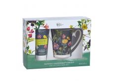 Bronnley RHS Natural Gardeners Therapy krém na ruce a nehty 100 ml + Hrneček dárková sada