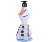 Disney Frozen 3D figurka sprchový gel a šampon na vlasy pro děti dávkovač 400 ml