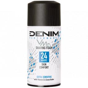 Denim Performance Extra Sensitive pěna na holení pro muže, pro citlivou pleť 300 ml
