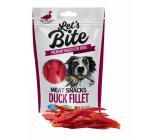 Brit Lets Bite Kachní filety doplňkové krmivo pro psy 300 g