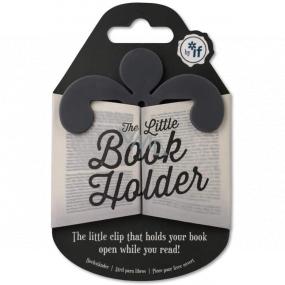 If Little Book Holder Držák na knihu Šedý 75 x 2,5 x 75 mm