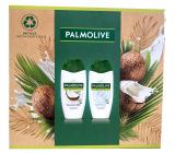 Palmolive Naturals Coconut & Milk sprchový krém 250 ml + Sensitive Skin Milk Protein sprchový krém 250 ml, kosmetická sada