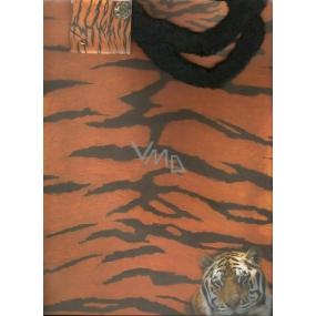Alvarak Dárková papírová taška velká 32 x 26 x 13 cm Tygr 1 kus 07131