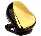 Tangle Teezer Compact Gold Fever Profesionální kompaktní kartáč na vlasy černo-zlatý