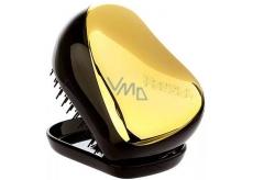 Tangle Teezer Compact Profesionální kompaktní kartáč na vlasy, Gold Fever černo-zlatý