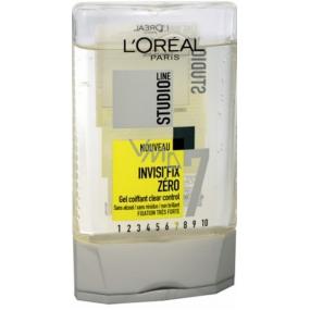 Loreal Paris Studio Line Invisi Fix Zéro neviditelný fixační gel pro snadné modelování vlasů 300 ml