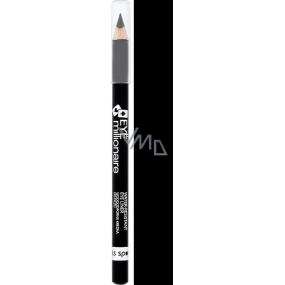 Miss Sporty Eye Millionaire Water-Resistant Eye Liner tužka na oči 001 Clover Black 1,5 g