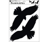 Samolepka siluety ptáci č.3 42 x 30 cm