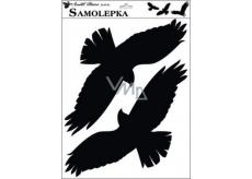 Samolepka siluety ptáci 42 x 30 cm č.3