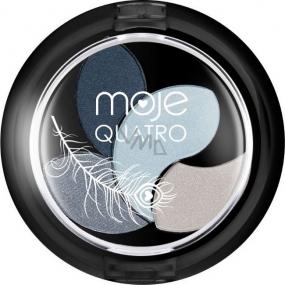 Moje Quatro Hedvábně jemné oční stíny 09 4 g