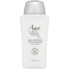 Aqua Mineral Daily Dewdrops Facial Cleanser čisticí pleťové mléko 200 ml