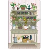 Bohemia Gifts & Cosmetics Aromatická vonná karta Květiny 10,5 x 16 cm