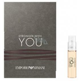 Giorgio Armani Emporio Stronger With You toaletní voda pro muže 1,2 ml s rozprašovačem, vialka