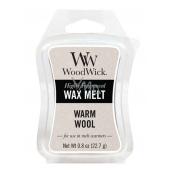 WoodWick Warm Wool - Hřejivá vlna vonný vosk do aromalampy 22.7 g