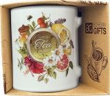 Bohemia Gifts Keramický hrnek s potiskem Tea 350 ml
