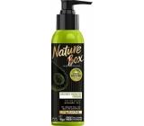 Nature Box Avokádo Regenerační krém na vlasy přírodní pro všechny typy vlasů, bez fixace se 100% za studena lisovaným olejem, vhodné pro vegany dávkovač 150 ml