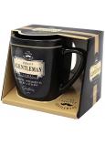 Nekupto Liga Pravých Gentlemanů hrnek v krabičce, Pravý GENTLEMAN- osobitý, inteligentní, silný a stylový, 7,5 x 9 cm