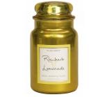 Village Candle Rebarborová citronáda - Rhubarb Lemonade vonná svíčka ve skle 2 knoty 602 g