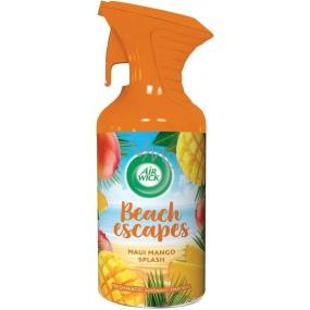 Air Wick Beach Escapes Maui mangové šplíchnutí osvěžovač vzduchu sprej 250 ml