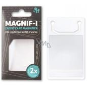 If Magnif-i Credit Card Lupa ve velikosti kreditní karty 2 x zvětšení