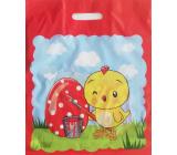 Nekupto Igelitová taška 380 x 450 mm Velikonoční Kuře