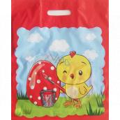 Nekupto Velikonoční igelitová taška Kuře 380 x 450 mm