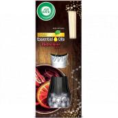 Air Wick Reed Diffuser Essential Oils Mulled Wine - Vůně svařeného vína vonné tyčinky osvěžovač vzduchu 30 ml