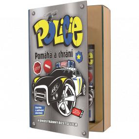 Bohemia Gifts Policista sprchový gel 200 ml + šampon na vlasy 200 ml, kniha kosmetická sada