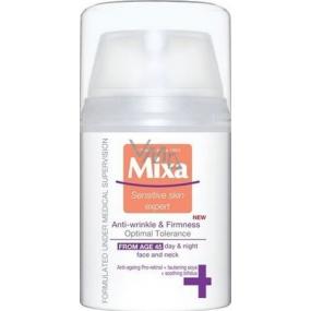 Mixa Anti-Wrinkle & Firmness zpevňující péče proti vráskám od 45 let 50 ml