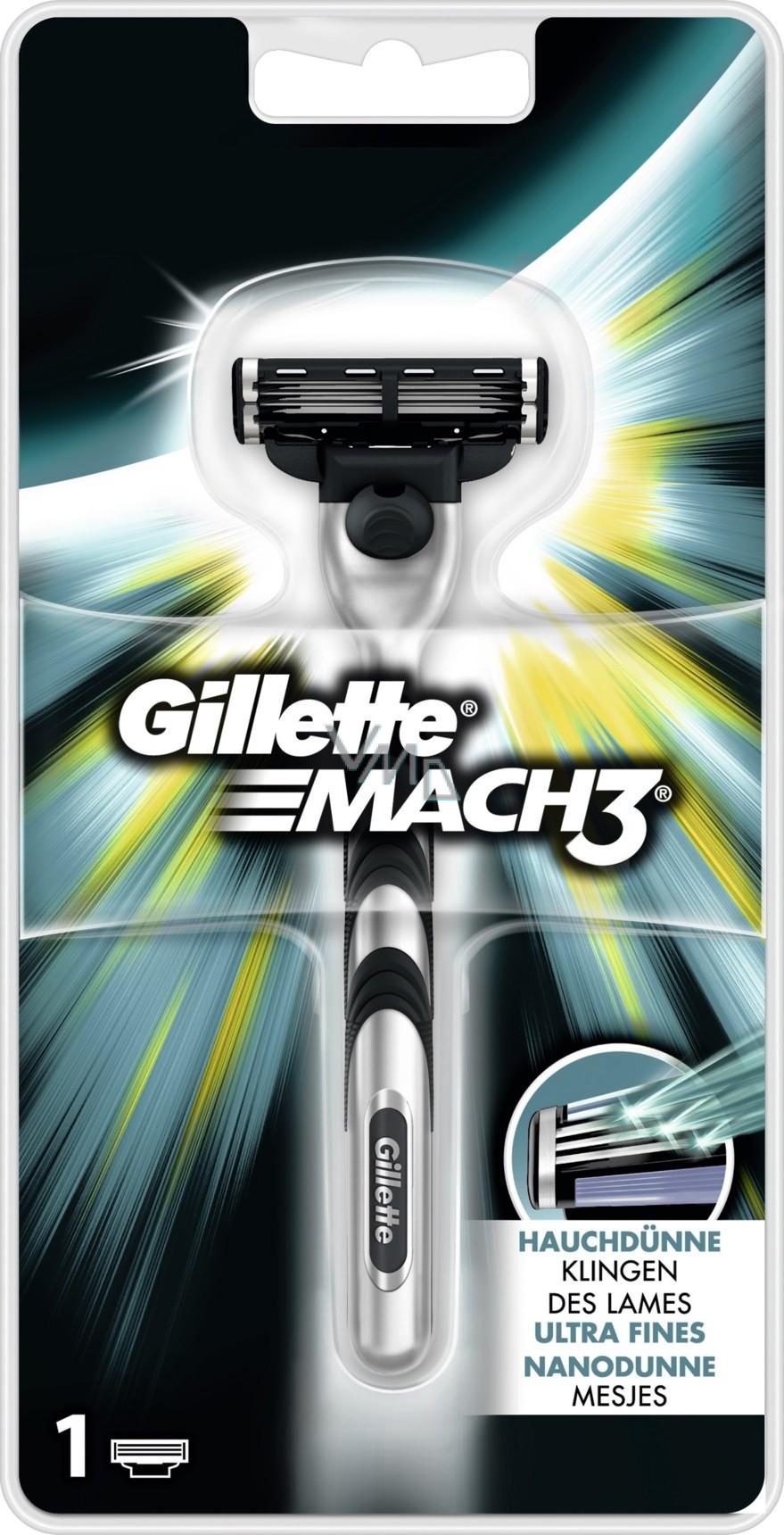 Gillette Mach 3 strojek 1 kus