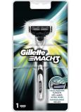 Gillette Mach 3 strojek 1 kus + 1 hlavice