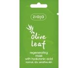 Ziaja Olivové listy regenerační pleťová maska 7 ml