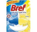 Bref Duo Aktiv Lemon tekutý WC blok komplet 50 ml