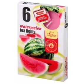 Tea Lights Watermelon s vůní vodního melounu vonné čajové svíčky 6 kusů