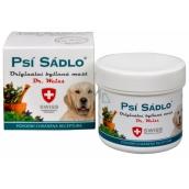 Dr. Weiss Psí sádlo Originální bylinná mast při kašli, nachlazení, rýmě, ucpaném nosu, astma 75 ml