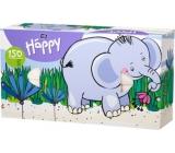 Bella Happy Baby Slon hygienické kapesníky 2 vrstvé 150 kusů