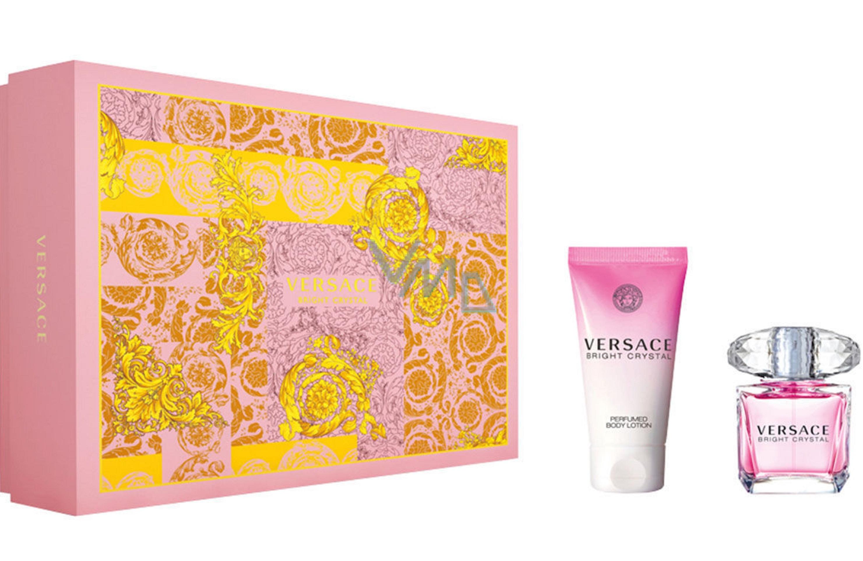 Versace Bright Crystal Eau de Toilette 30 ml + Body Lotion 50 ml, gift set