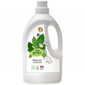 Real Green Clean univerzální prací gel na bílé i barevné prádlo 42 dávek 1,5 l