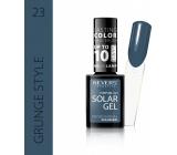 Revers Solar Gel gelový lak na nehty 23 Grunge Style 12 ml
