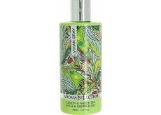 Vivian Gray Aroma Selection Lemon & Green Tea luxusní sprchový gel a pěna do koupele 400 ml