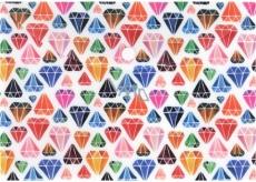 Albi Original Pouzdro na dokumenty Diamanty A5 - 148 x 210 mm