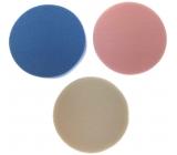 Houbička na make-up kulatá barevná 3 kusy 3585