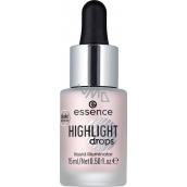 Essence Highlight Drops Liquid Illuminator tekutý rozjasňovač 20 Rosy Aura 15 ml