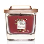 Yankee Candle Holiday Pomegranate - Sváteční granátové jablko sojová vonná svíčka Elevation malá sklo malé 1 knot 96 g