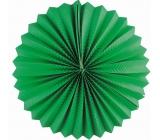 Lampion kulatý zelený 25 cm