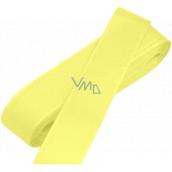 Nekupto Stuha látková taftová žlutá 3 m x 15 mm