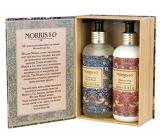 Heathcote & Ivory Strawberry Thief mycí gel 300 ml + mléko na ruce 300 ml, kosmetická sada