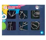 Albi Metal Twister Combo Kit 6v1 sada 6 hlavolamů, věk 6+